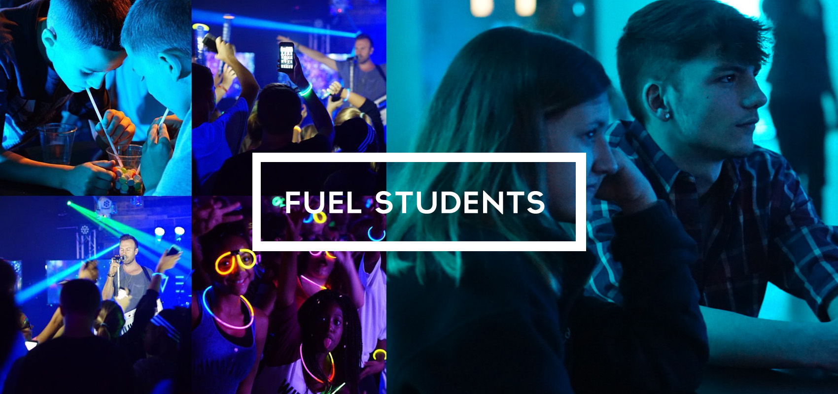 banner on fuel student page