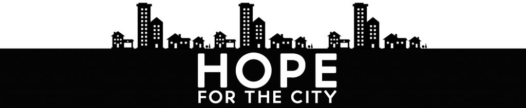 banner for hope for the city page