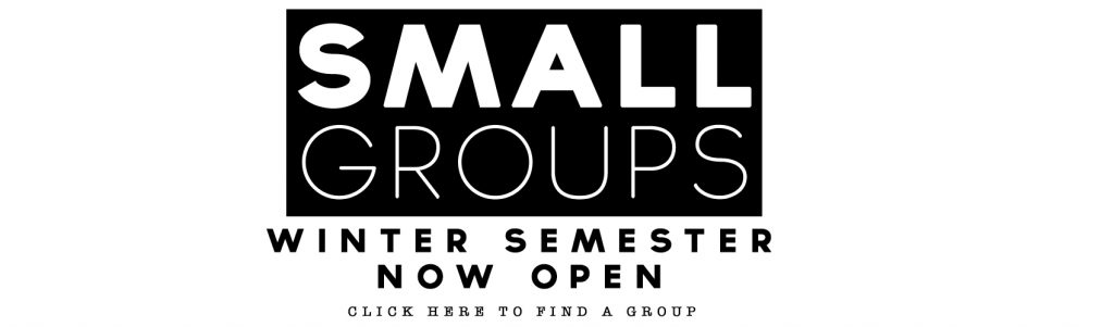 winter semester sign up for small groups